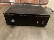 fosgate audionics audio power amplifier M60 mk ll pro-plus series