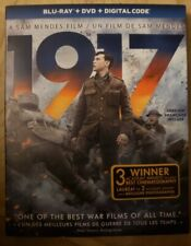 1917 Blu-Ray & DVD w Slipcover Canada Bilingual NO DC LOOK Best War Film