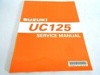 Genuine Vintage Suzuki UC 125 Epicuro Service Manual 99500-31120-01E