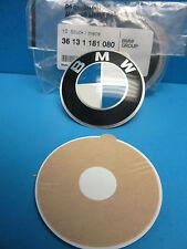"1 Genuine Wheel Center Cap Emblem BMW OEM # 36131181080 65 mm 2.5"" Adhesive DIY"