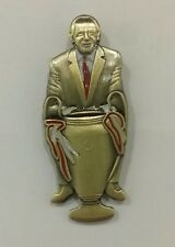 Manchester United Matt Busby 1968 Copa Europea de Ganadores Bronce Pin Insignia de calidad