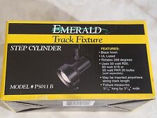 NEW IN BOX Cooper Lighting P5011B Black Emerald Step Cylinder