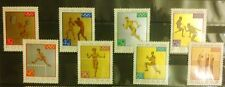 POLAND STAMPS MNH 2Fi1472-79 Sc1355-62 Mi1623-30 - Olympic Medals, 1965, clean