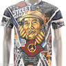 CLASSIC T-shirt Minute Mirth ms25 Tattoo Skull Skate Gangster Revolution Soldier