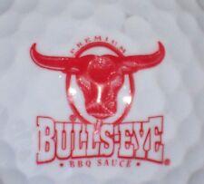 (1)  BULLS EYE BBQ SAUCE LOGO GOLF BALL