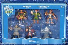 Disney Heroes Set of 6 PVC Figurines a Disney Store Exclusive New MISP