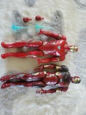 Marvel Legends Iron Man 2 Figure Lot Mark 46 Battle Damage, and Mark 50