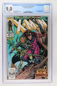 Uncanny X-Men #266 - Marvel 1990 CGC 9.0 1st Appearance of Gambit. A Mystique Ap