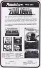 ZULU DAWN Original Vintage Australian Movie Press Sheet