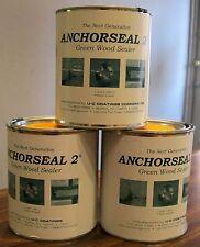 (1) One Quart Anchorseal 2 Green Wood Sealer