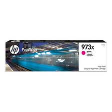 original PageWide Pro HP 973x Alta Capacidad Magenta Cartucho de Tinta (F6T82AE)
