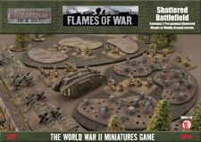 Flames Of War - Seconde Guerre Mondiale Jeu - Shattered Champs de Bataille