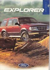 Ford Explorer Brochure  - 1997 Issue One
