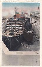 Dry Dock , St John , New Brunswick , Canada , PU-1932