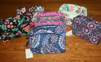 Vera Bradley  MEDIUM COSMETIC bag case travel makeup 4 tote purse backpack  NEW
