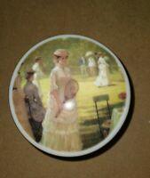 Germany Russian Fairy Tales Vintage Heinrich Villeroy /& Boch The Snow Madien Snegurochkka porcelain trinket box W
