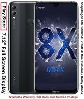 "Huawei Honor 8X Max 7.12"" Full Screen Snapdragon 636 Dual AI Cameras Dolby Atmos"