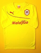 Cardiff City third jersey shirt Small 2013 2014 soccer football Puma ig93 4.1/5