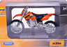 Welly KTM 525 EXC Motorcycle Scale 1/18 Model Diecast with Box
