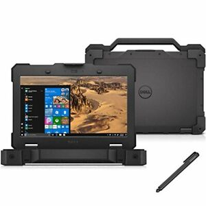 Dell Rugged Extreme 7404 Laptop i7-4650U 16GB EVO 500SSD Top of range specs LTE