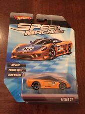 Hot Wheels Speed Machines Yellow Saleen S7 Die Cast 1:64, MISP