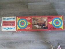 Vintage Shuffakurl Curling, Shuffleboard, Horse Racing 3 in 1 Game Board