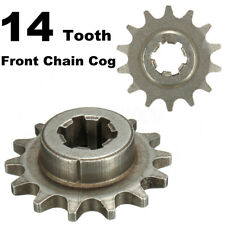 1x 47cc 49cc T8F 8mm Mini Moto Pit Bike 14 Tooth Front Pinion Sprocket Chain Cog