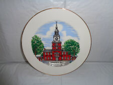 Independence Hall - Philadelphia PA - Souvenir - Collectible Plate