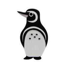 Gorgeous NORTHSIDE WANDERER Penguin Resin Brooch by Erstwilder * Endangered