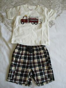 Gymboree shorts and t shirt age 6 - 12 months BNWT