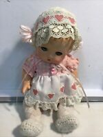 "Vintage/Antique 1932 Composition Doll 9""  Effanbee Patsy Babyette"