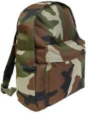 Army Backpack Kids Woodland Camouflage Rucksack Bag Travel School Hikes Outdoor