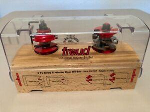 Freud Industrial Router Bit Set Item 99-267