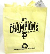 San Francisco Giants MLB  2014 World  Series Champions ReUsable Bag (YL Color)