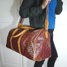vintage ESCADA Reisetasche Sporttasche Tasche Bag Weekender Paisley Print