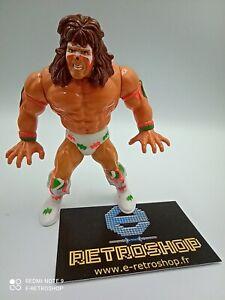 Figurine catcheur The Ultimate warrior WWE WWF HASBRO 1990 Titan sport