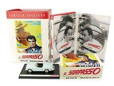 Dvd en SORPASSO Limited Edition 2 dvd + Modelo Lancia Spider NUEVO