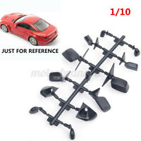 6-Style Rear View  Mirrors  For 1:10 RC Car On Road Upgrade Black Mirror  NEW