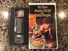 Darby O' Gill And The Little People Vhs! 1959 Fantasy! Cinderella Old Yeller