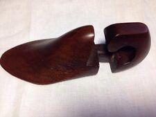 Vintage Wooden Shoe Last Child's Size Handcarved & Signed UK Rare