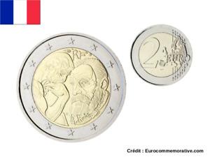 2 Euros Commémorative France 2017 Auguste Rodin - UNC