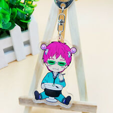 The Disastrous Life of Saiki Kusuo Key Chain Key Ring Key Buckle Pendant New 02