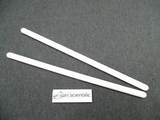 2 X 150 mm varillas de agitación de polipropileno Agitador de laboratorio de 6 mm de ancho