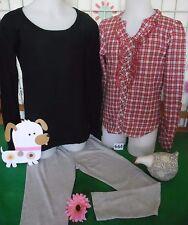 vêtements occasion fille 10 ans,tunique/chemise LISA ROSE,pull,leggins