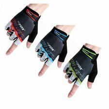 BATFOX Cycling Half Short Finger Gloves Bicycle Gloves Men Women Bike Mittens