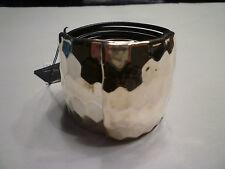 NWT: E & L Israel Sterling Silver Honeycomb Magnetic Bracelet