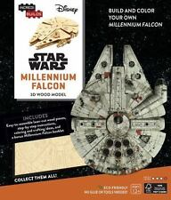 NEW IncrediBuilds: Star Wars: Millennium Falcon 3D Wood Model by Michael Kogge