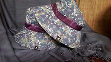 Kangol Split Brim Bucket Hat-Dainty Floral-Medium-NWT