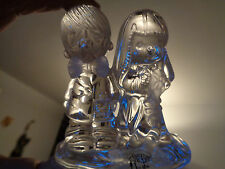 """Precious Moments Crystal Wedding Figurine """"The Lord Bless You And Keep You"""""""