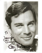 GEORGE MAHARIS - Actor - Route 66 - Autograph Photo